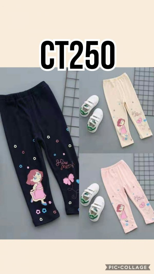 CT250 Celana Legging Seri 5 Uk 1 4th @29rb winkionline
