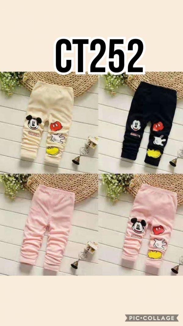 CT252 Celana Legging Seri 5 Uk 1 4th @29rb winkionline