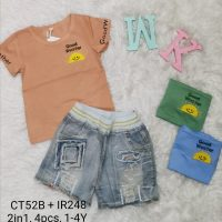 CT52BIR248 Baju Celana Jeans 2in1 Seri 4 Uk 1 4th @88rb winkionline