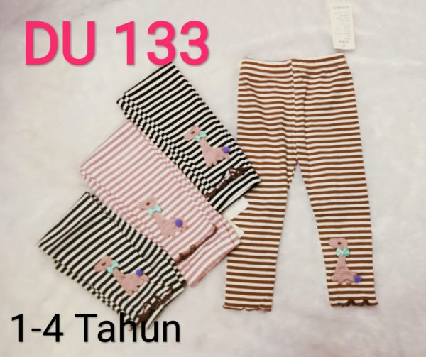 DU133 Celana Legging Seri 5 Uk 1 4th @35rb winkionline