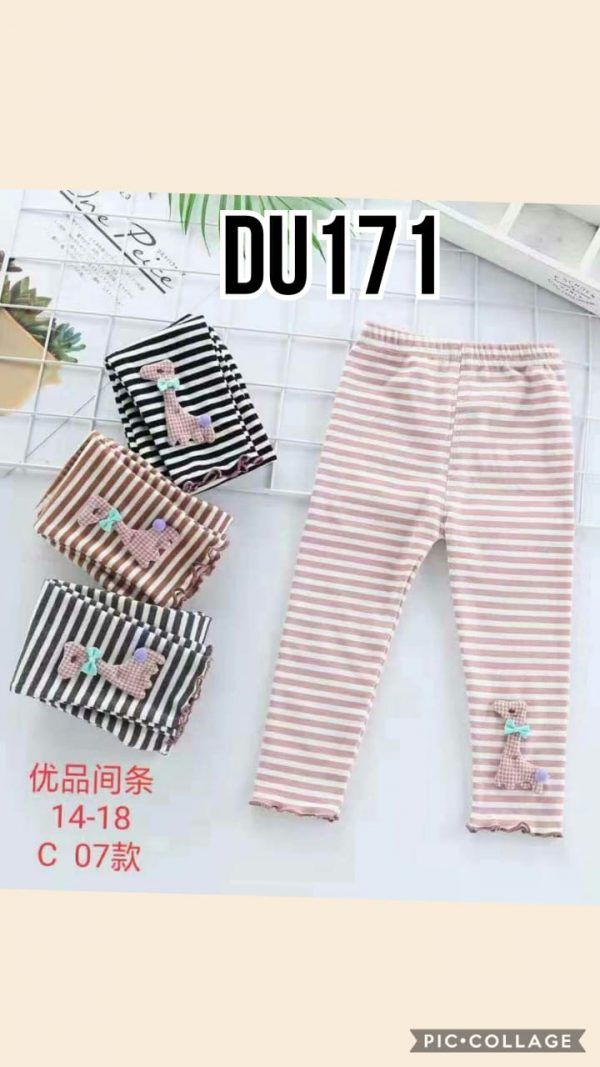 DU171 Celana Legging Seri 5 Uk 1 4th @40rb winkionline