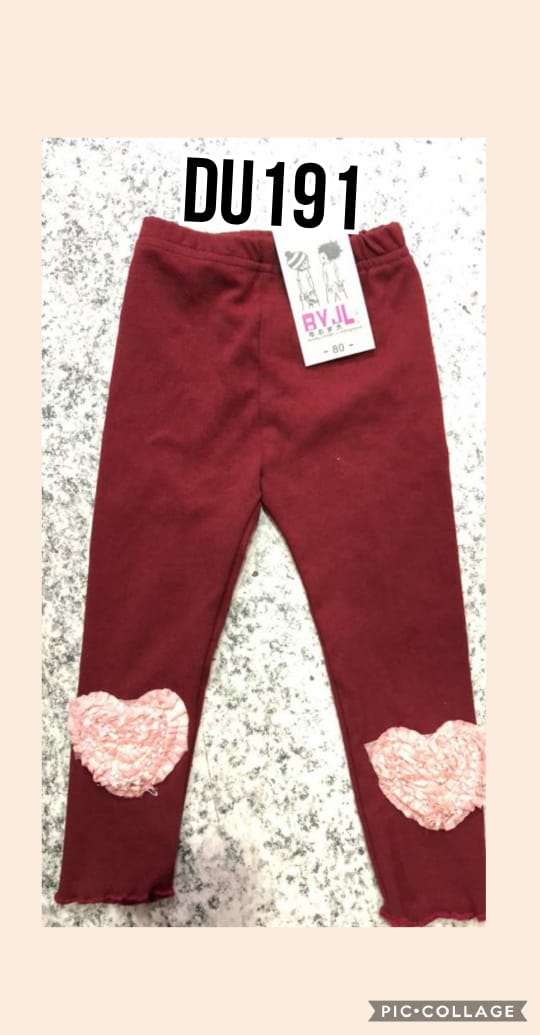 DU191 Celana Legging Seri 5 Uk 1 5th @35rb winkionline