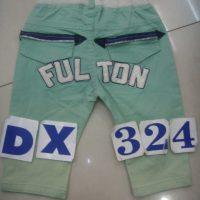 DX324 Celana Tanggung Jeans Seri 4 4 10 1 4th Hijau Coklat @55rb scaled winkionline