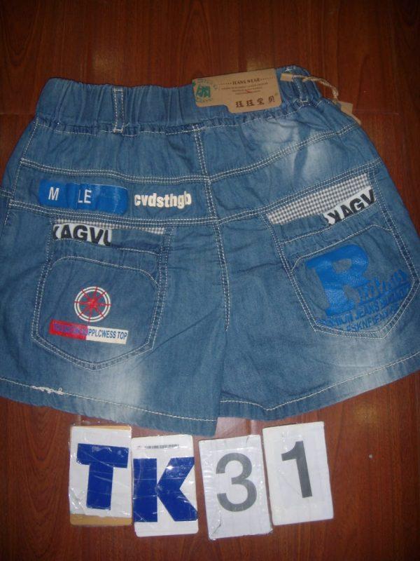 GTK31 Celana Semi Jeans Seri 5 Uk 2 5th @48rb 1 winkionline