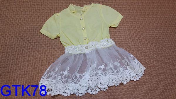 GTK78 Dress Seri4 1 4Y Biru KngSalem @30rb winkionline