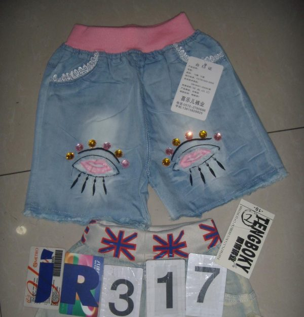 IR317 Hotpant Jeans Seri 5 Uk 1 5th @50rb winkionline