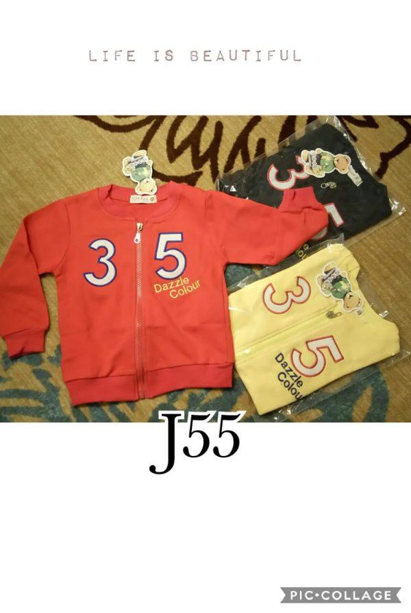 J55 Jaket Kaos Seri 4 1 4th @42rb winkionline