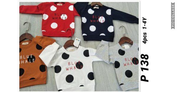 P138 Baju Sweater Seri 4 1 4th @40rb winkionline