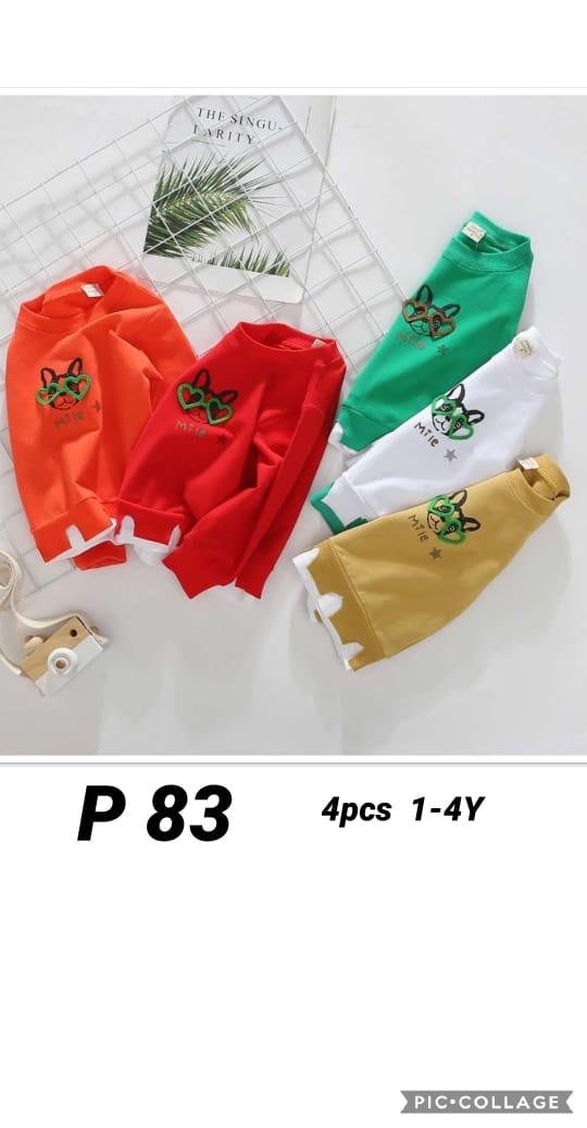 P83 Baju Sweater Seri 4 1 4th @48rb winkionline