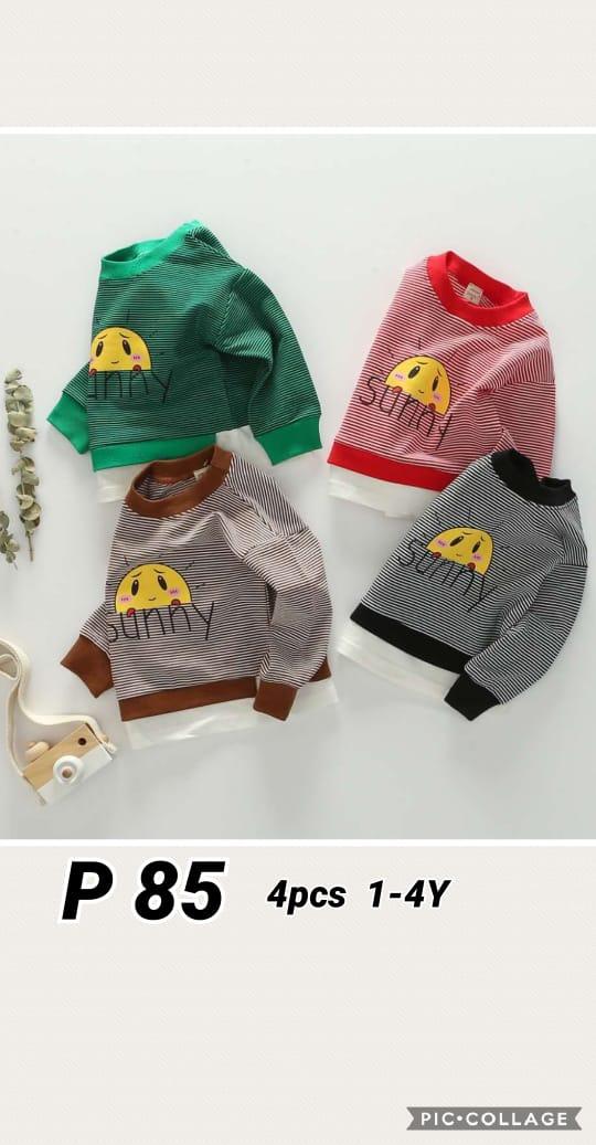 P85 Baju Sweater Seri 4 1 4th @48rb winkionline