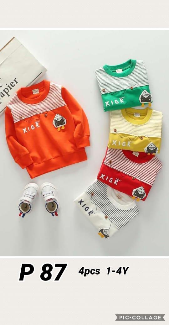 P87 Baju Sweater Seri 4 1 4th @48rb winkionline