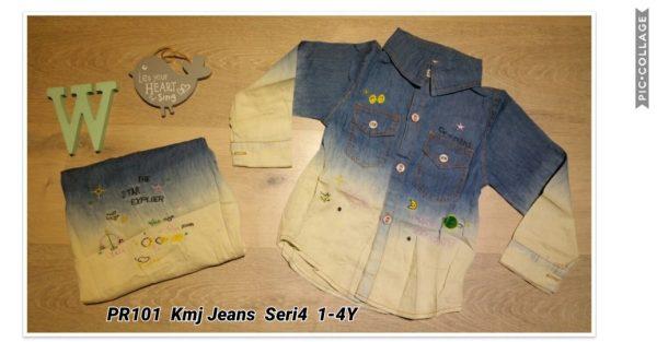 PR101 Kemeja Jeans Seri 4 1 4th @55rb winkionline