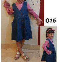 Q16 Baju Overall Jeans2in1 Seri 5 3 7th 1Warna @99rb winkionline