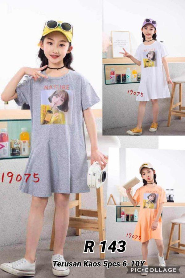 R143 Dress Trendy Seri5 6 10th @59rb winkionline