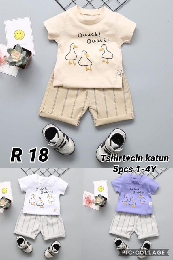 R18 Baju Celana 2in1 Seri 5 Uk 1 4th @58rb winkionline