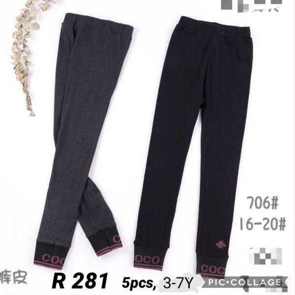 R281 Celana Legging Seri 5 Uk 3 7th @35rb winkionline