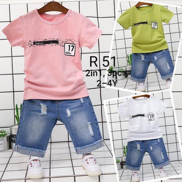 R51 Baju Celana 2in1 Seri 4 Uk 2 5th Seri 4 Tapi Dapat 3 Size 1 Size Double Dengan Beda Warna @72rb winkionline