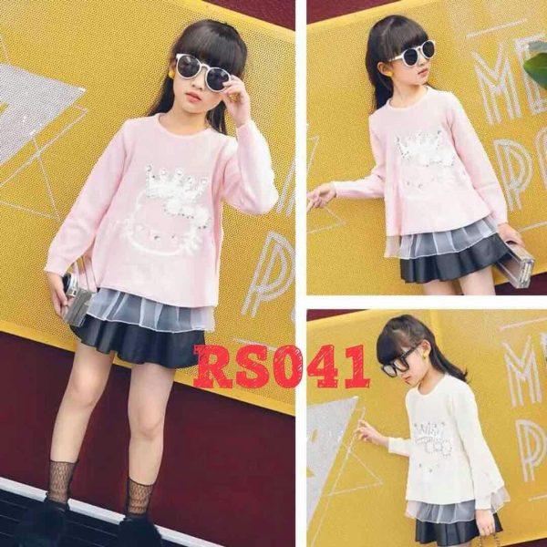 RS041 Baju Sweater Seri 5 Uk 4 7th @65rb winkionline