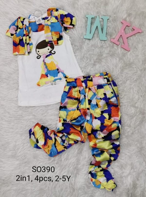 SO390 Baju Celana 2in1 Seri 4 Uk 2 5th @38rb winkionline