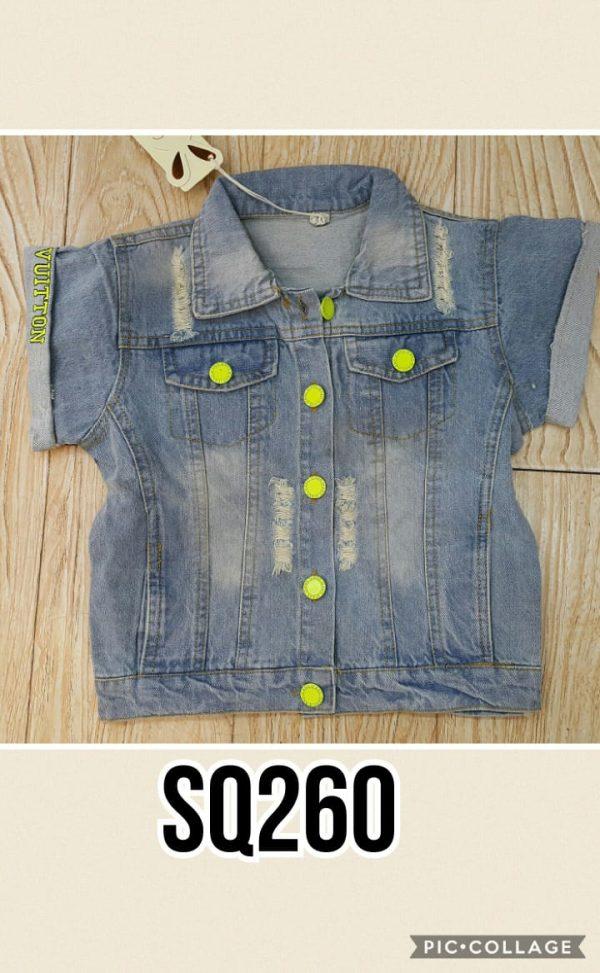 SQ260 Kemeja Jeans Seri 4 Uk 3 6th @63rb winkionline