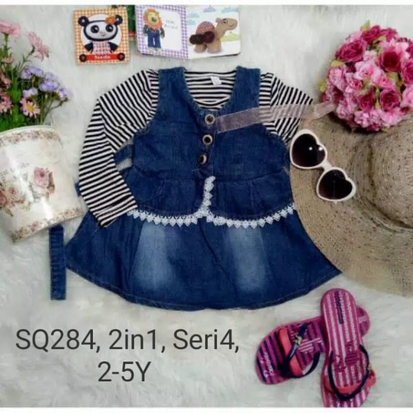 SQ284 Dress Sweater 2in1 Seri 4 Uk 2 5th @78rb winkionline