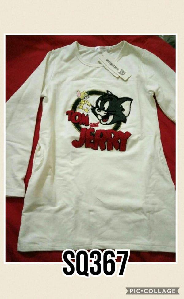 SQ367 Baju Sweater Seri 5 Uk 3 7th 1 WARNA @35rb winkionline