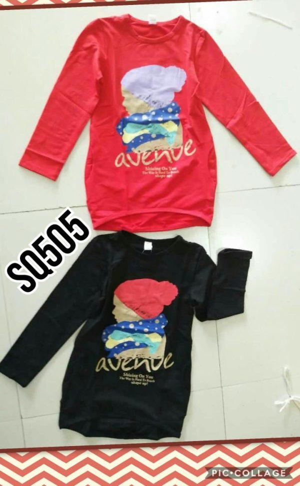 SQ505 Baju Sweater Seri 5 Uk 3 7th @40rb winkionline