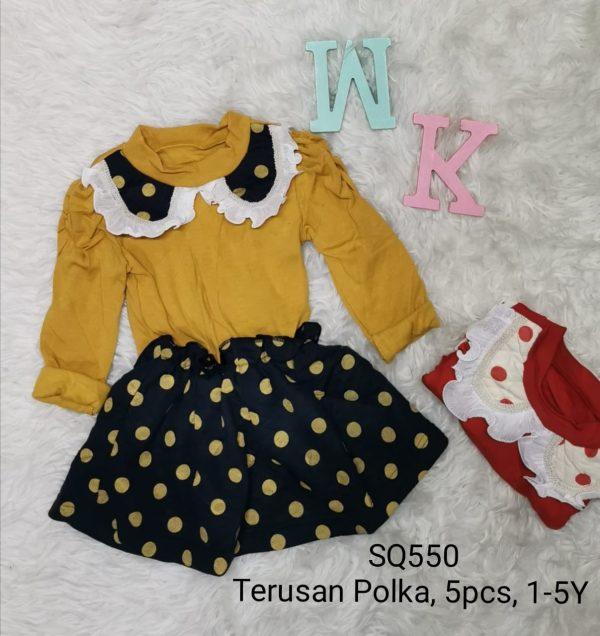 SQ550 Dress Polka Seri 5 Uk 1 5th @45rb winkionline