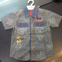 TK150A Kemeja Jeans Batik Seri3 UK 4 6Y @52rb UK 7 9Y@54rb winkionline