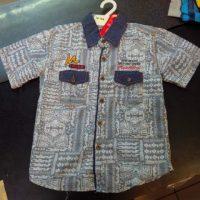TK154 Kemeja Jeans Batik Seri3 UK 10 12Y @56rb winkionline