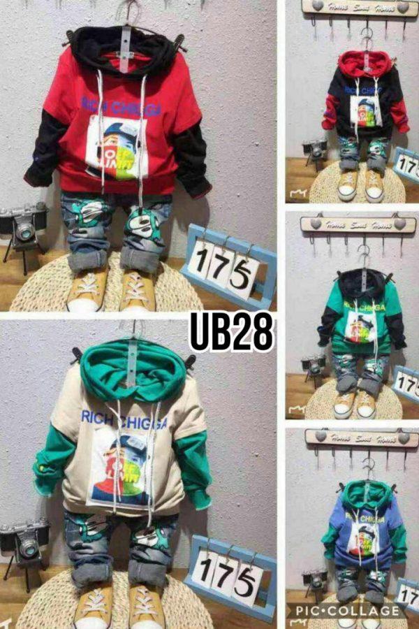 UB28 Baju Sweater Tebal Seri 4 Uk. 1 4th @63rb winkionline