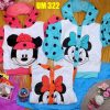 UM322 Jaket Minnie Seri3 S L 1 4Y Pink Toska Orange @75rb winkionline